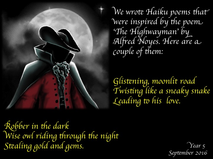 poems like the highwayman